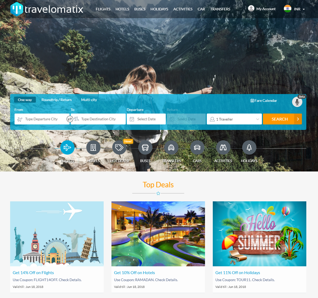 B2B Travel Portal Development India | Travel Portal Software